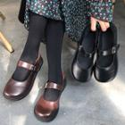 Mary Jane Strapped Flats