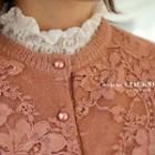 Smocked Lace Sheer Top