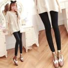 Fleece-lined Leggings 2pcs