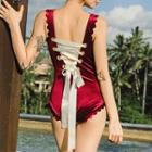 Ribbon Detail Swimsuit