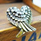 Heart-shaped Wings Ring -copper Copper - One Size