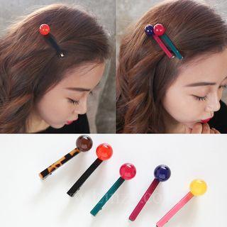 Crystal Ball Hair Clip