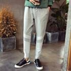 Color Panel Jogger Pants