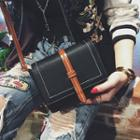 Flap Belted Cross Bag