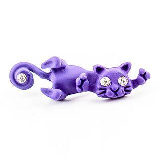 Cat Single Earring