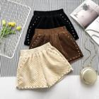 Studded Detail Shorts