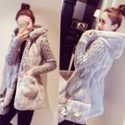 Furry Long Coat