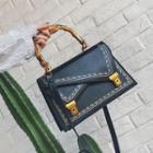 Printed Handbag With Shoulder Strap