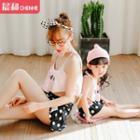 Polka Dot Family Matching Bikini