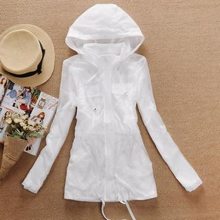 Hooded Long Jacket