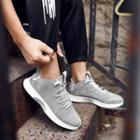 Platform Stitched Sneakers