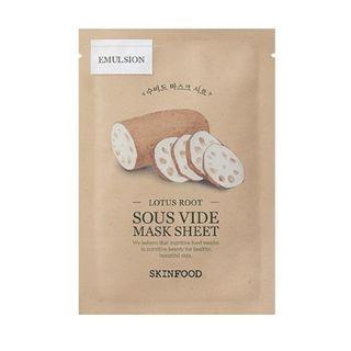 Skinfood - Sous Vide Mask Sheet - 10 Types #10 Lotus Root