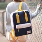 Plain Square Backpack