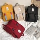Flap Zip Backpack