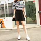 Inset Inner Shorts Mini Skirt