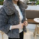 Faux-fleece Short Jacket