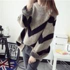 Chevron Loose Fit Sweater
