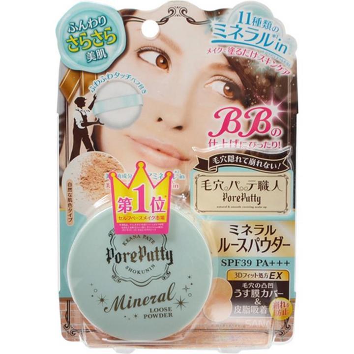 Sana - Pore Putty Bb Mineral Loose Powder Spf 39 Pa+++ 1 Pc
