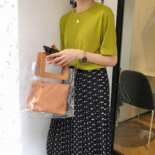 Pvc Tote With Pouch