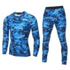 Set: Camouflage Sport Top + Leggings