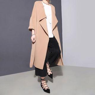 Slit-side Long Jacket