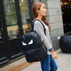 Print Noctilucent Canvas Backpack