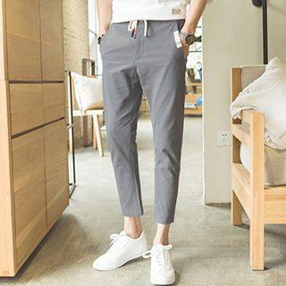 Linen Cotton Capri Pants