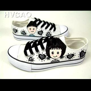Childhood Sweethearts Canvas Sneakers