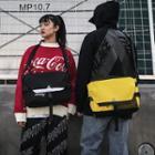 Couple Matching Canvas Messenger Bag