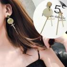 Non Matching Bar Drop Earrings