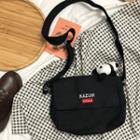 Embroidered Canvas Crossbody Bag / Doll / Set