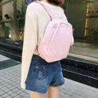 Canvas Zip Mini Backpack