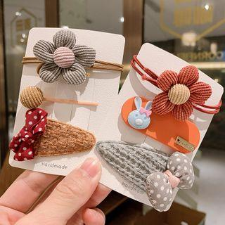 Set Of 3: Hair Accessory