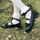 Strapped Mary Jane Pumps