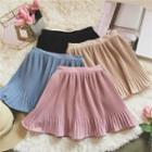 A-line Chiffon Mini Skirt