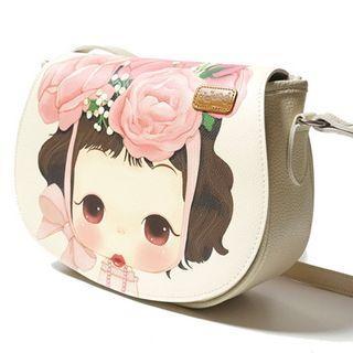 Ddung Series Shoulder Bag Cream - One Size