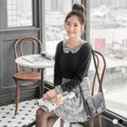 Knit Pleated Dress