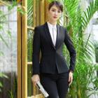 Blazer / Pencil Mini Skirt / Dress Pants / Shirt / Vest / Set