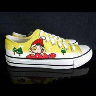 Santas Little Helpers Canvas Sneakers