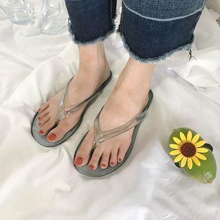 Transparent Flip-flops