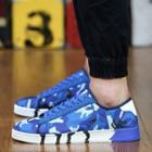 Camouflage-print Sneakers