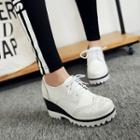 Contrast Brogue Oxfords