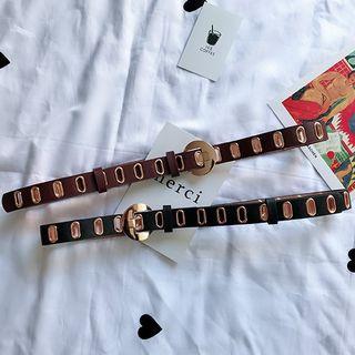 Oversize Buckle Belt