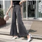 Glittering Wide-leg Pants