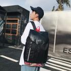 Print Panel Backpack Black - One Size