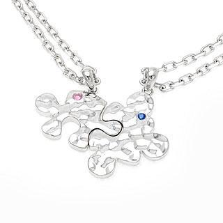 Puzzle Of Love Pendant