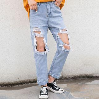 Distressed Distressed Jeans