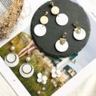 Fuax-pearl Shell Earrings