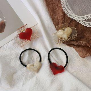 Heart Hair Claw / Hair Tie