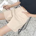Set: Plain Shorts + Belt
